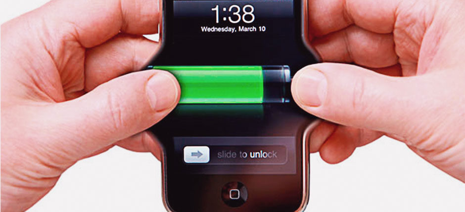 Extension of smart phone battery.